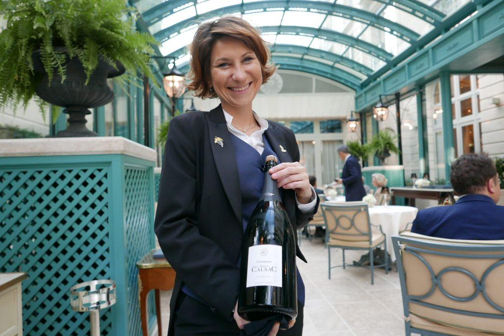 Estelle Touzet et les vins ©GP