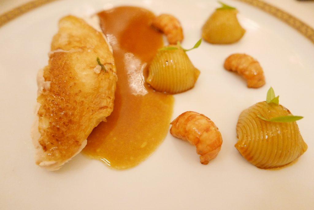 Volaille de Bresse, lumaconi, écrevisses ©GP