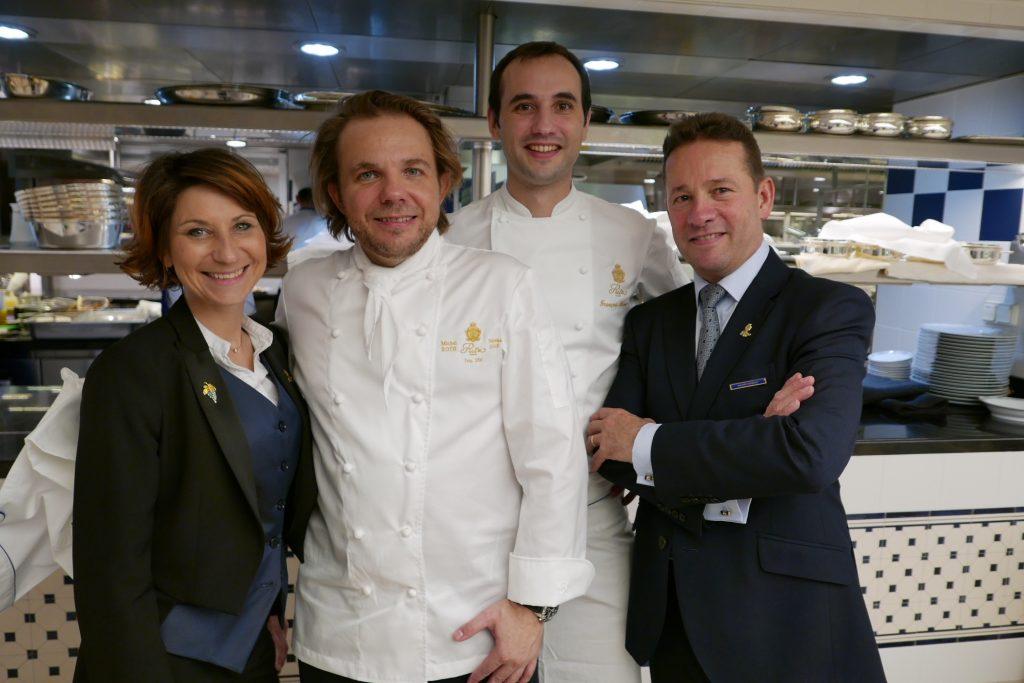Estelle Touzet, Nicolas Sale, François Perret, Philippe Cousseau © GP