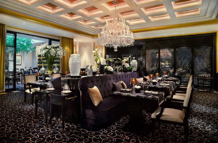 La table 3 étoiles de JR à Singapour © Guide MIchelin
