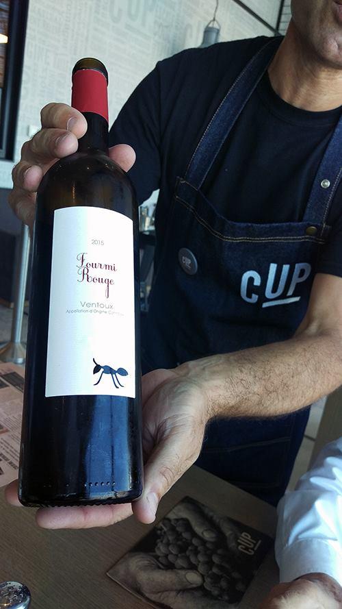 Le service du vins © AN