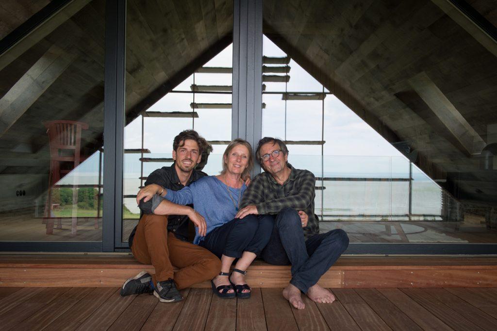 Hugo, Jane et Olivier Roellinger ©OR