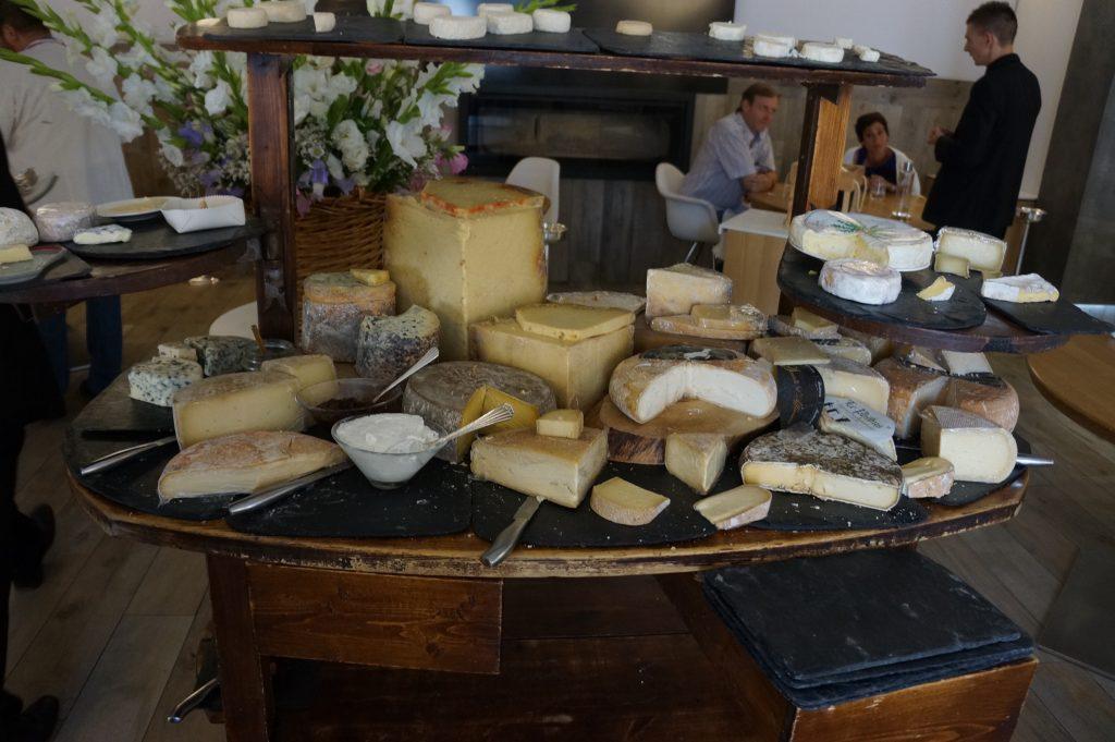 Plateau de fromages © GP