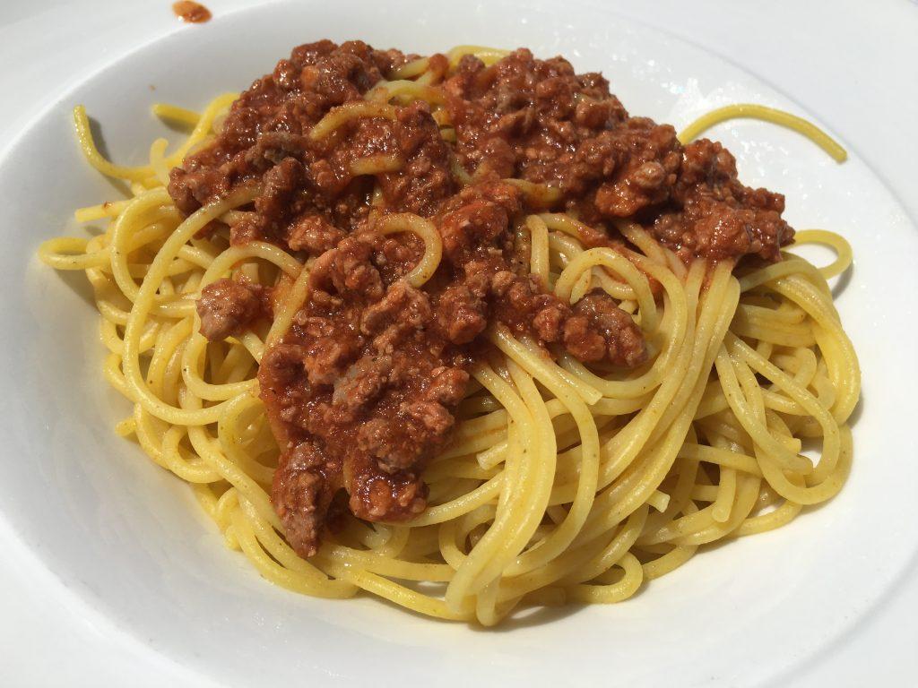 Spaghetti bolognaise ©GP