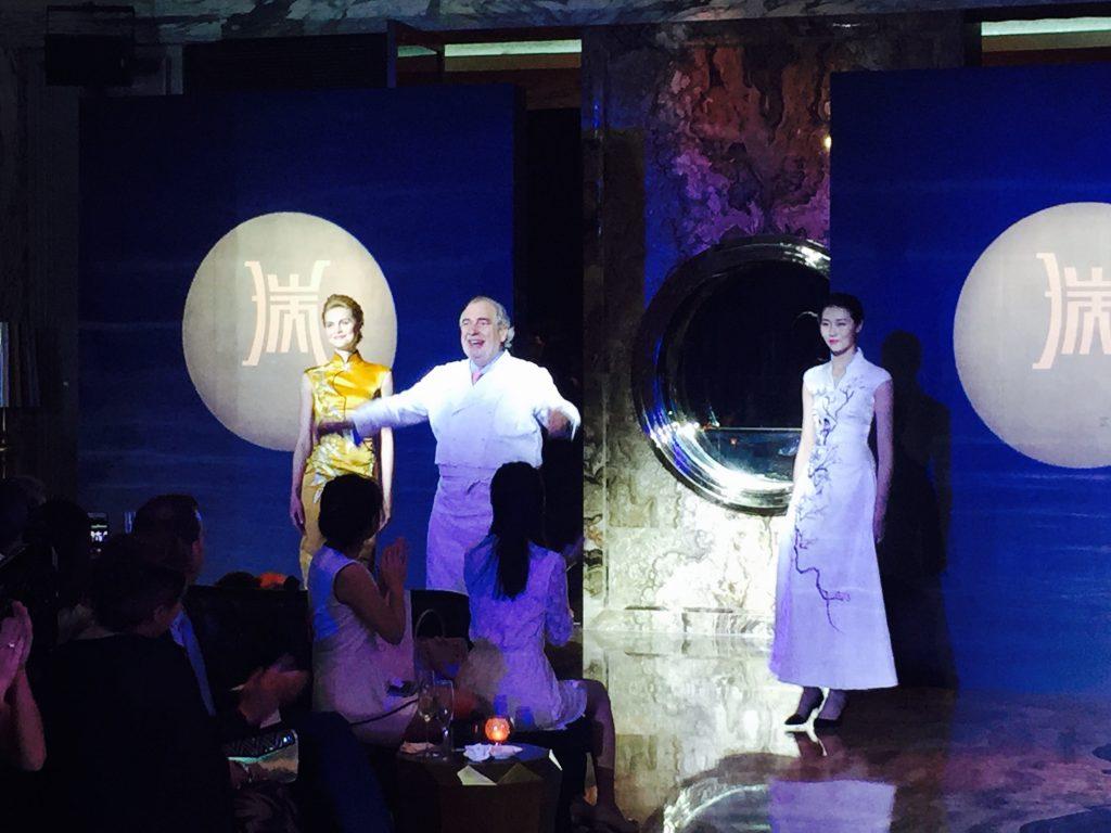 Présentation du restaurant par Marc Meneau © PM