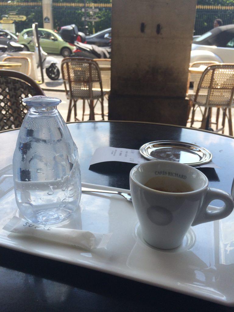 Eau et café © GP