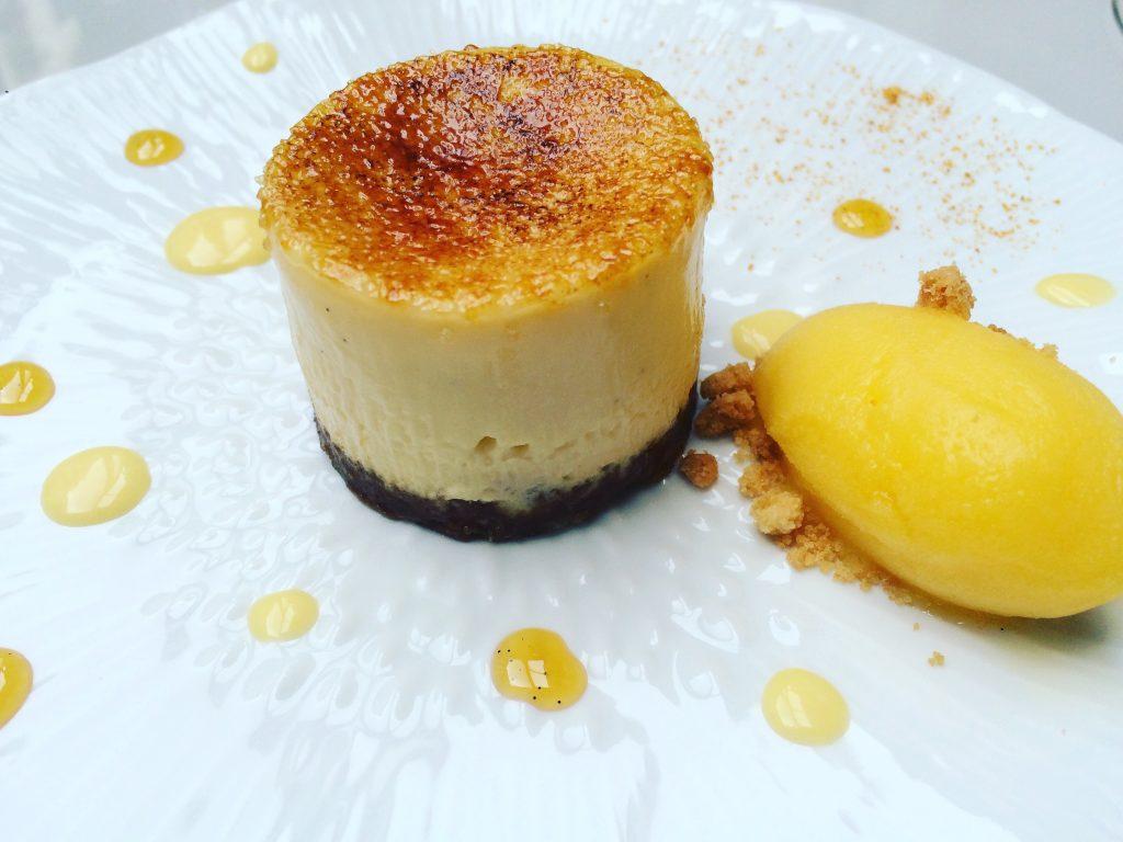 Crème brûlée au fromage blanc © GP