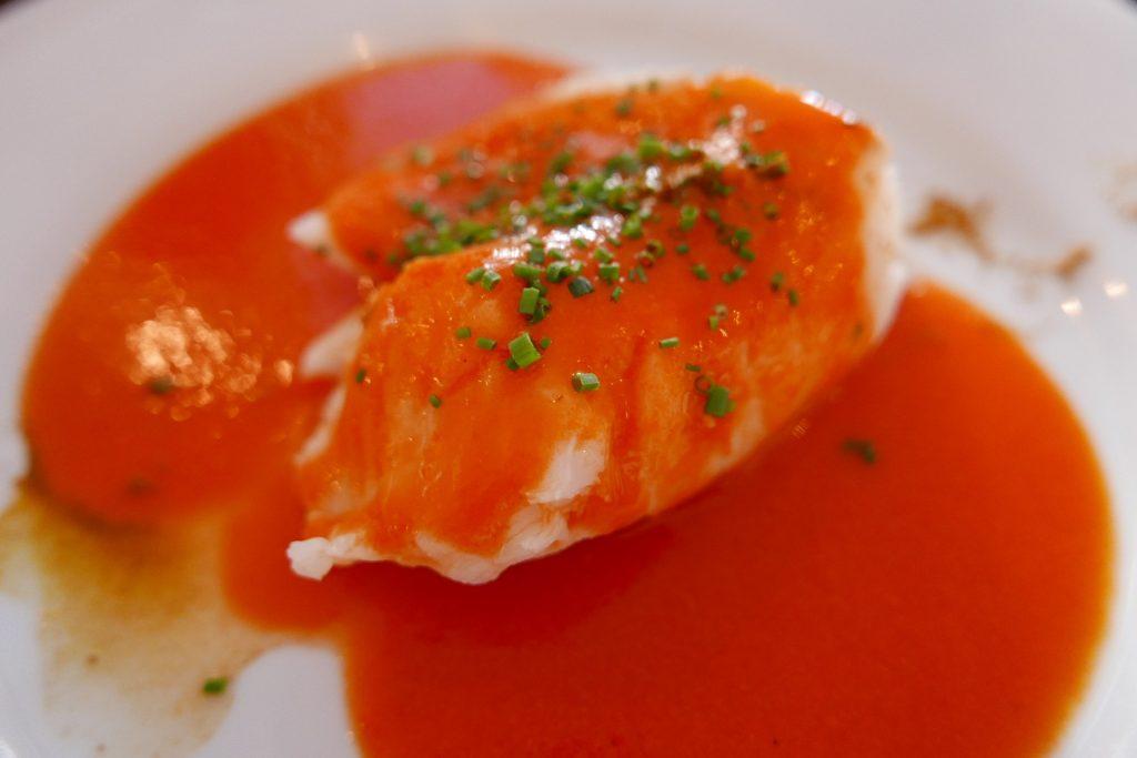 Cabillaud sauce poivron ©GP