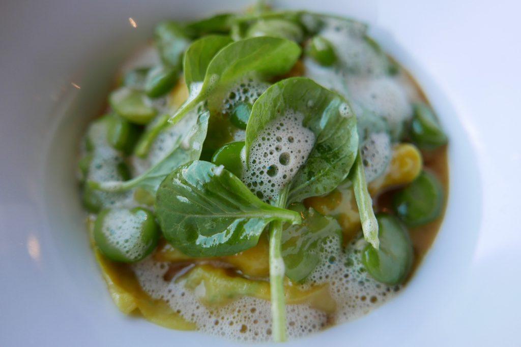 Ravioli de homard aux fèves ©GP