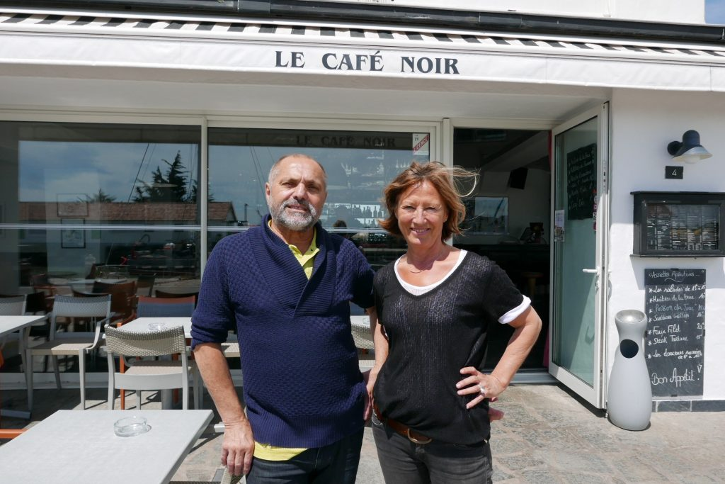 Georges Bessière et et Mado Aubert © GP