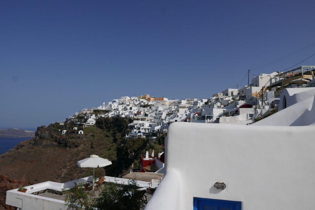 Vue sur la mer et le village ©GP