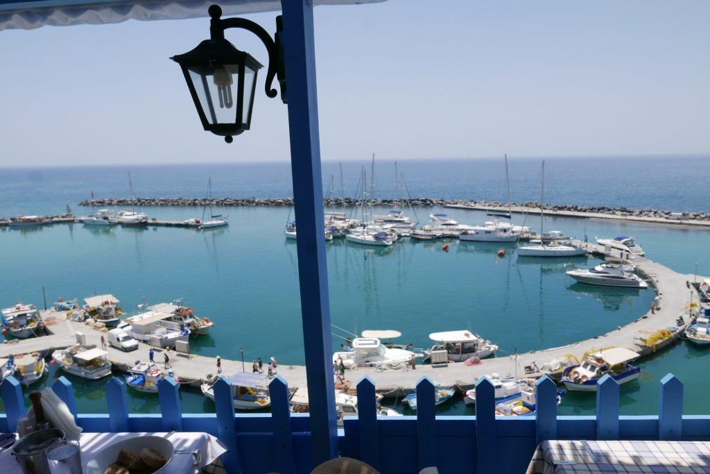 Vue sur la marina ©GP