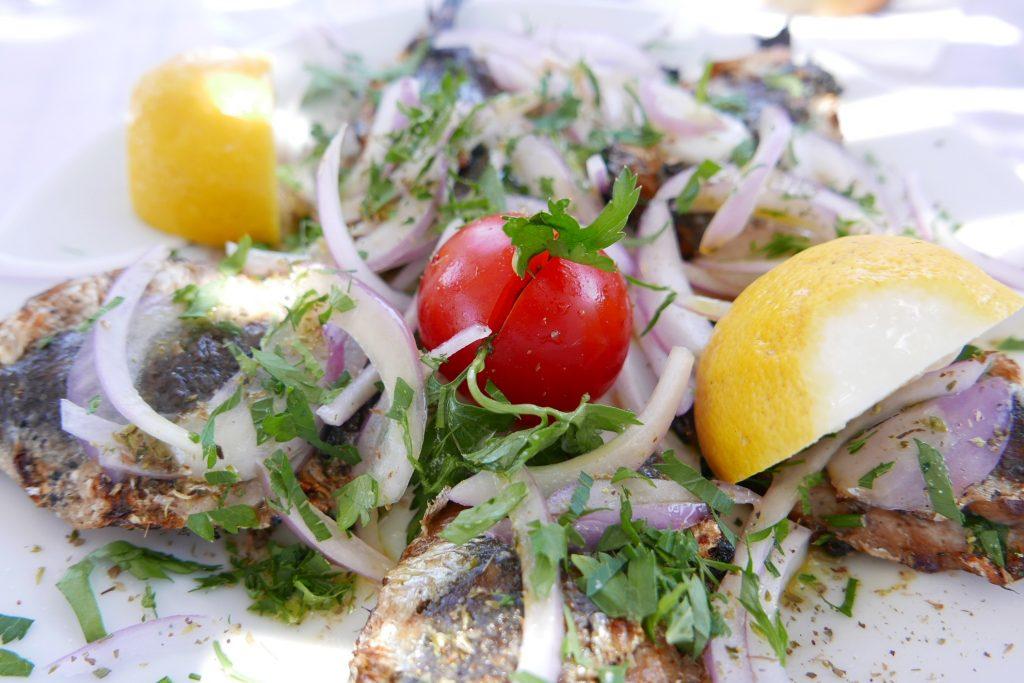 Sardines grillées © GP