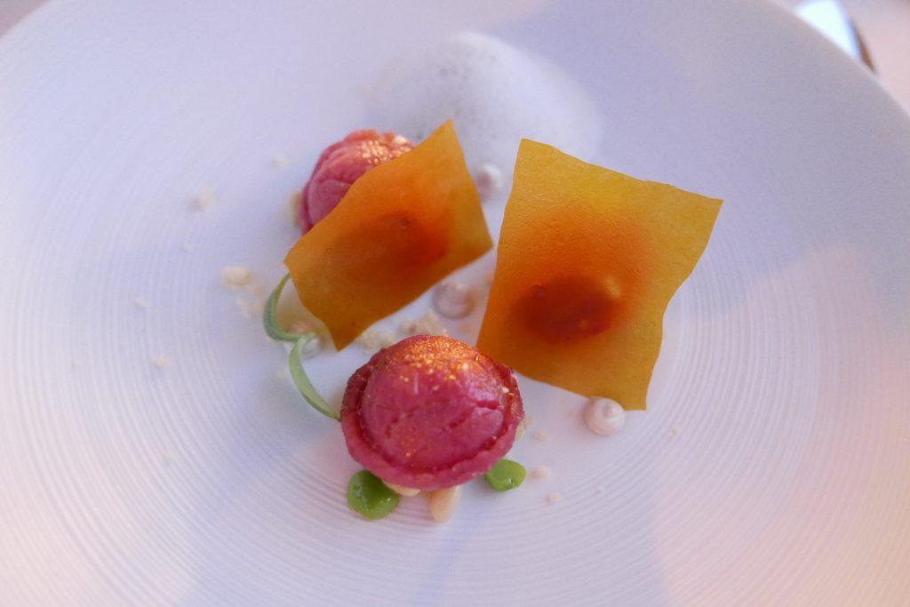 Ravioli de filet de boeuf au Frant © GP