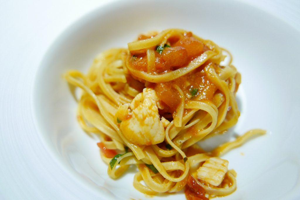 Tagliolini d'épeautre au homard © GP