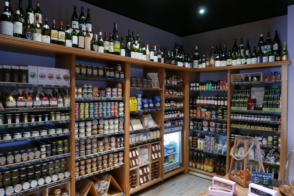 La boutique de produits ©GP