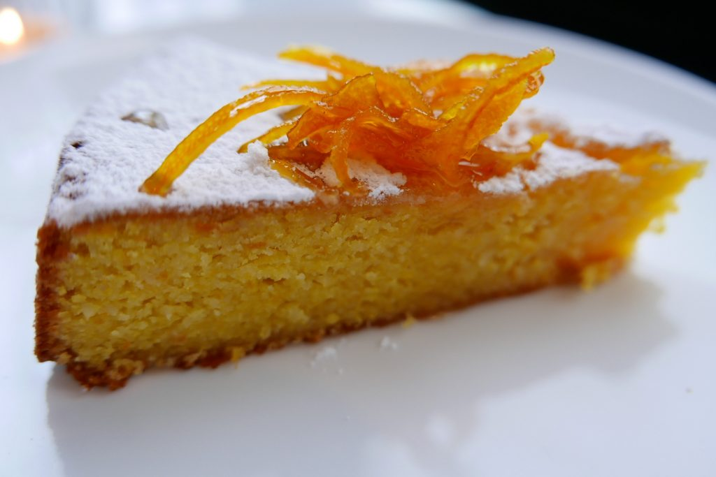 Gâteau à l'orange © GP