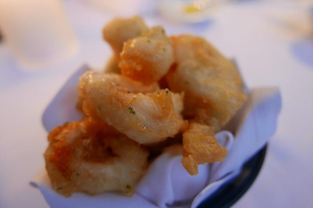 Courgettes et calamars en beignets niçois © GP
