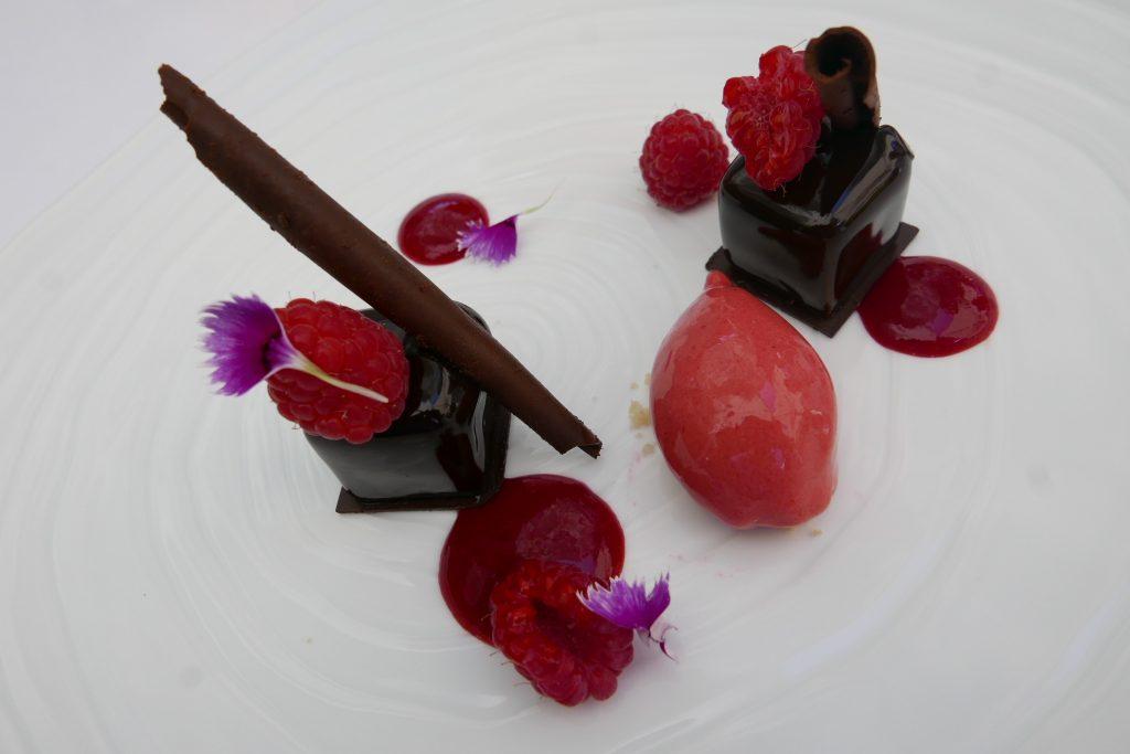 Mariage chocolat-framboise © GP