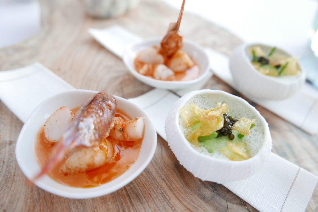 Galathée, courgettes, pommes de mer ©GP