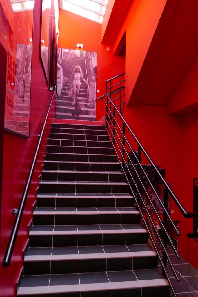 Dans l'escalier © GP