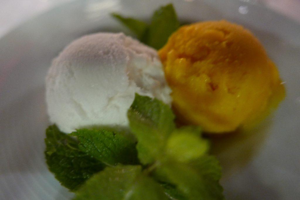 Sorbet coco mangue © GP