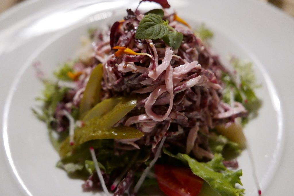 Salade de saucisses à la souabe©GP