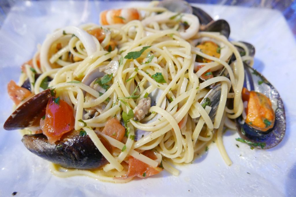 Linguine aux fruits de mer © GP