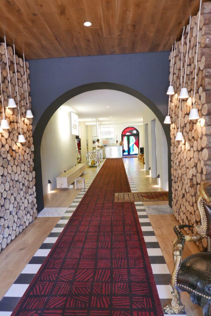 Le couloir d'entrée © GP