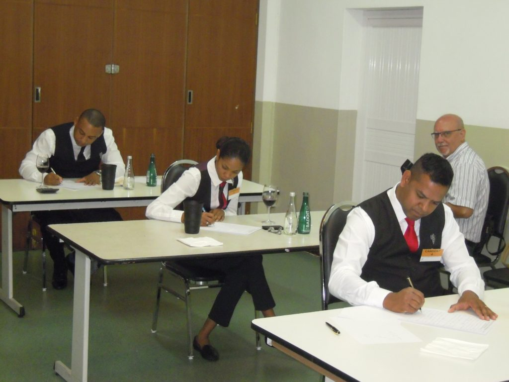 Des candidats studieux ©TK