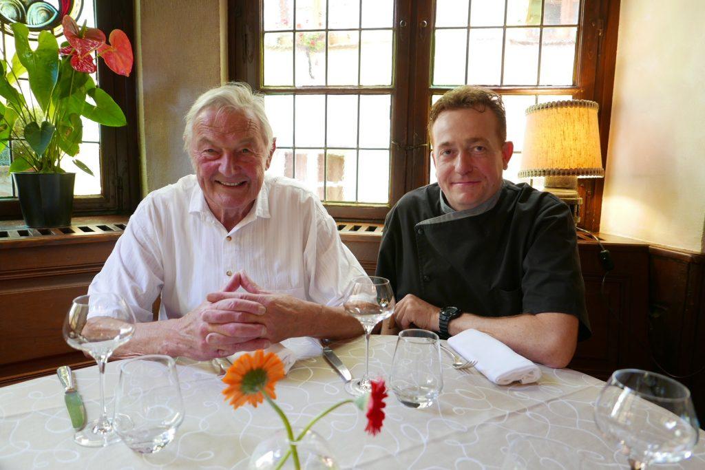 Georges Gilg et Vincent Reuschlé ©GP