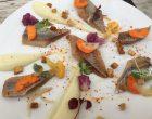 Filets de hareng mariné et mousse de chou-fleur © GP