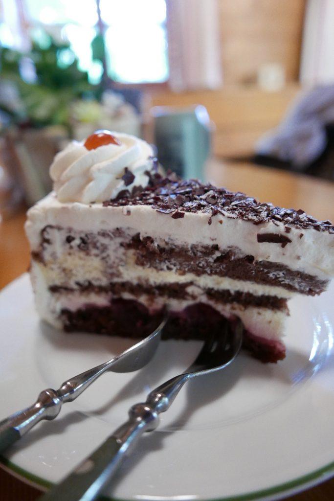 Gâteau Forêt Noire ©GP