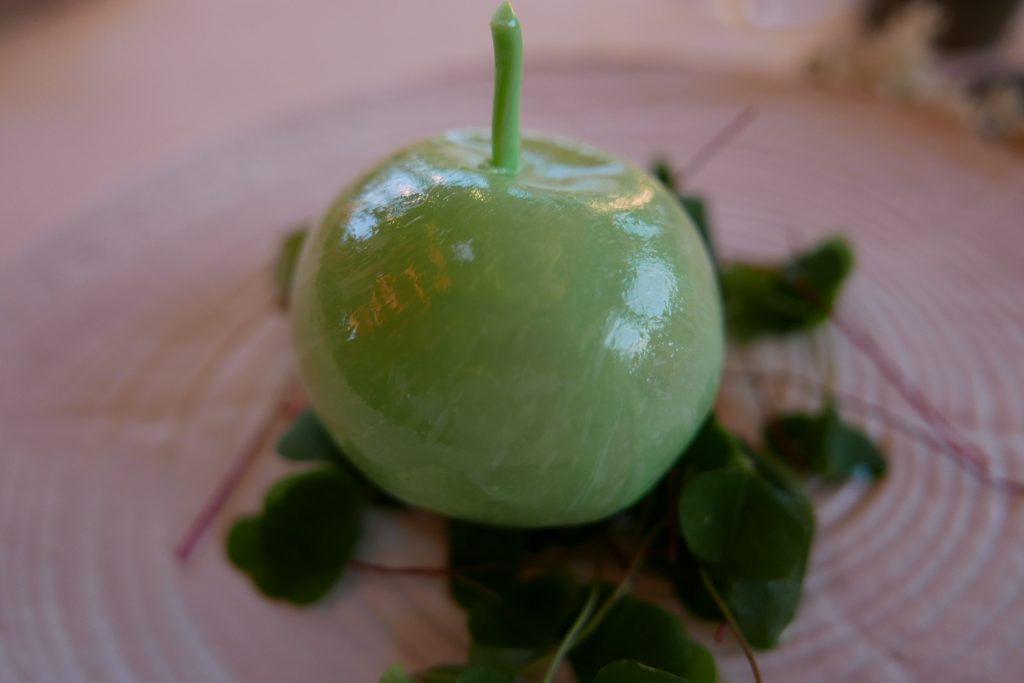 Pomme soufflée ©GP