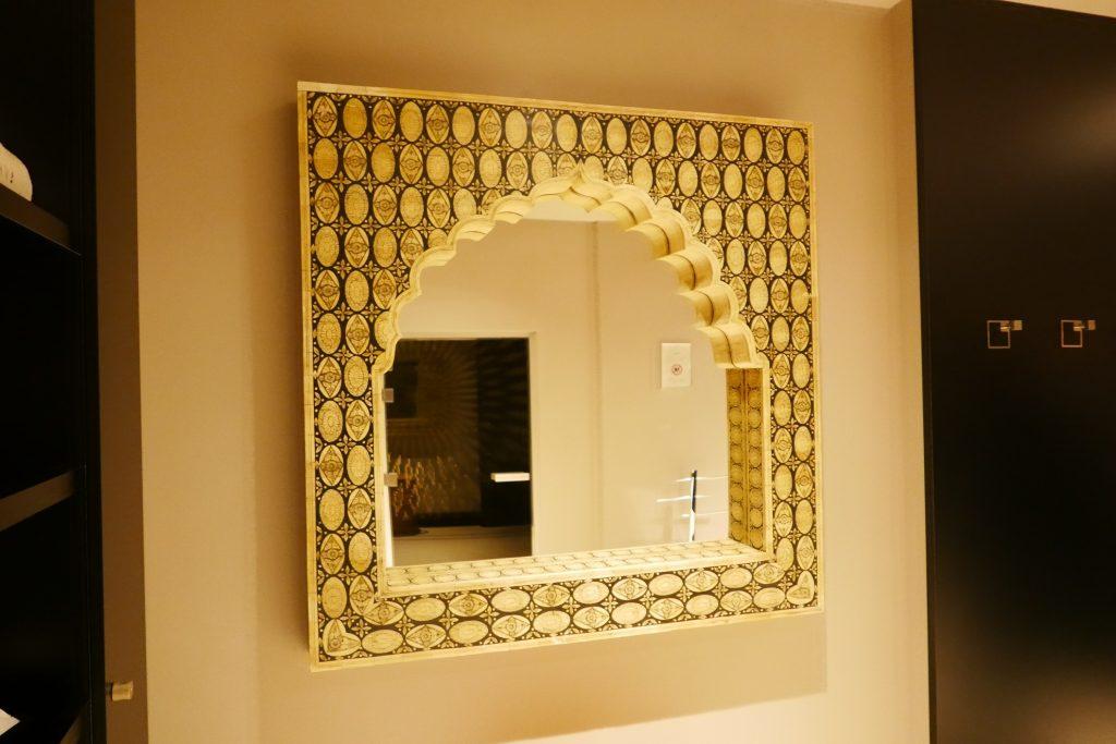 Miroir au spa © GP