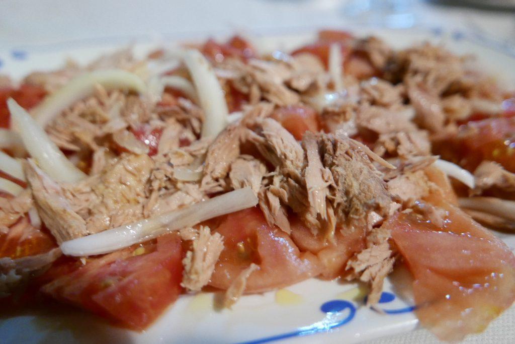Salade de tomates au thon © GP