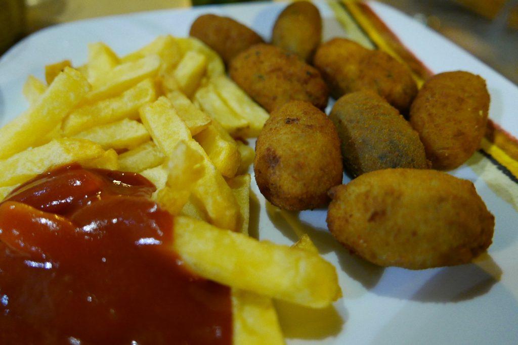 Croquetas (et frites) ©GP