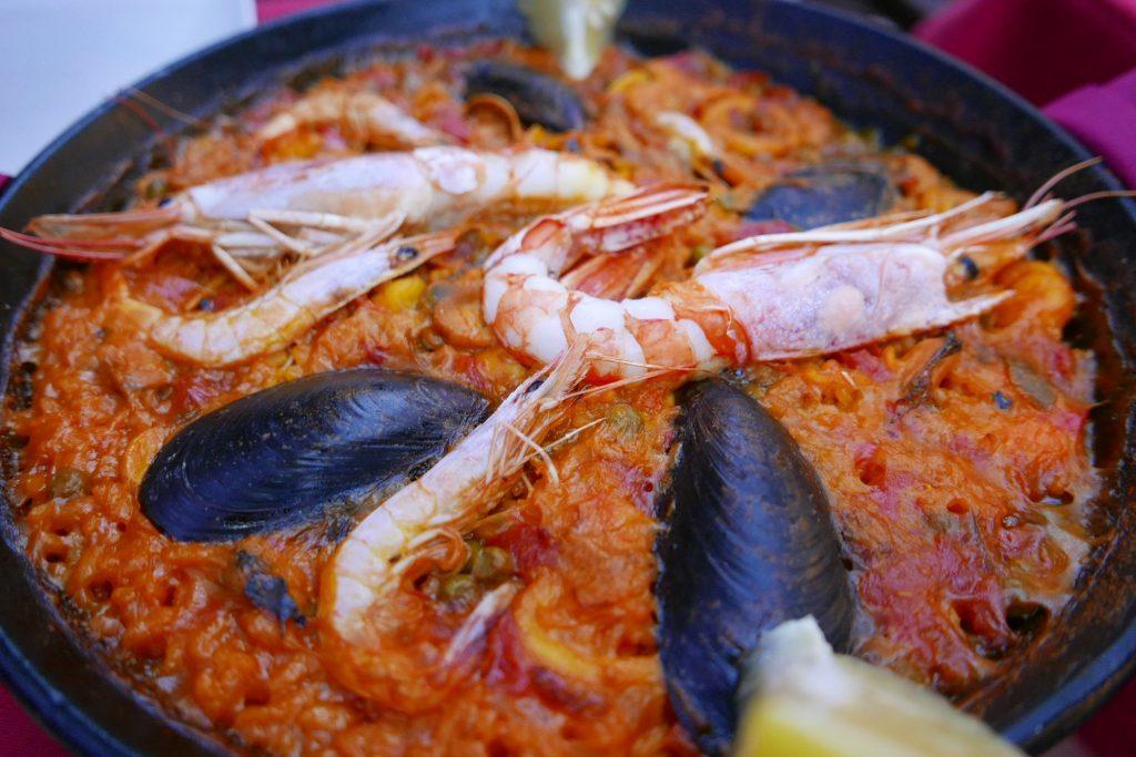 Paella aux coquillages ©GP