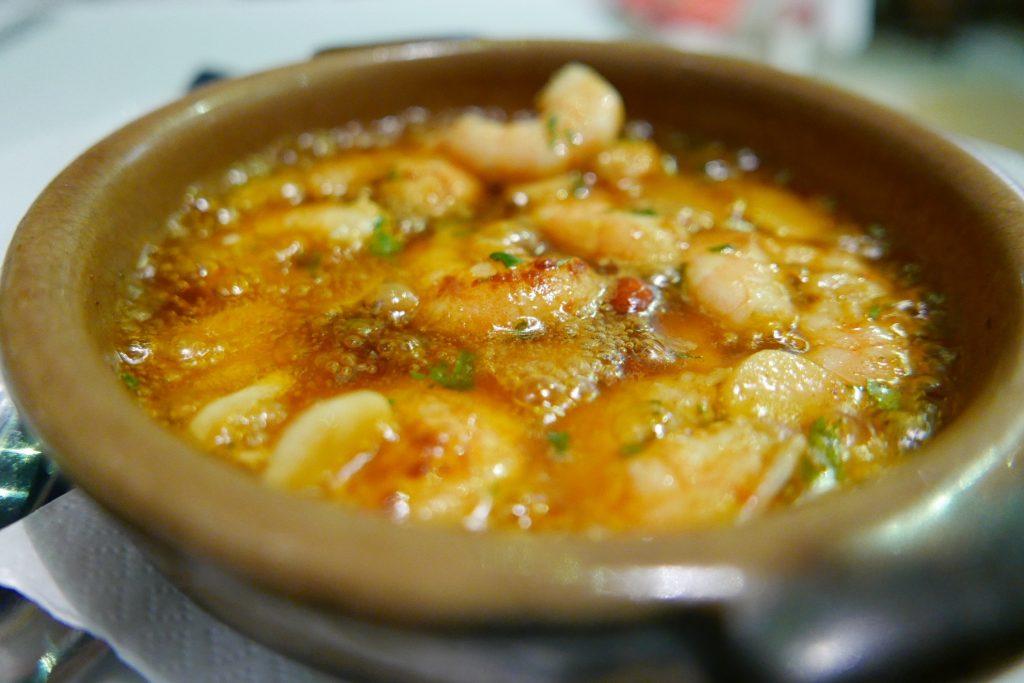 Crevettes pil pil © GP