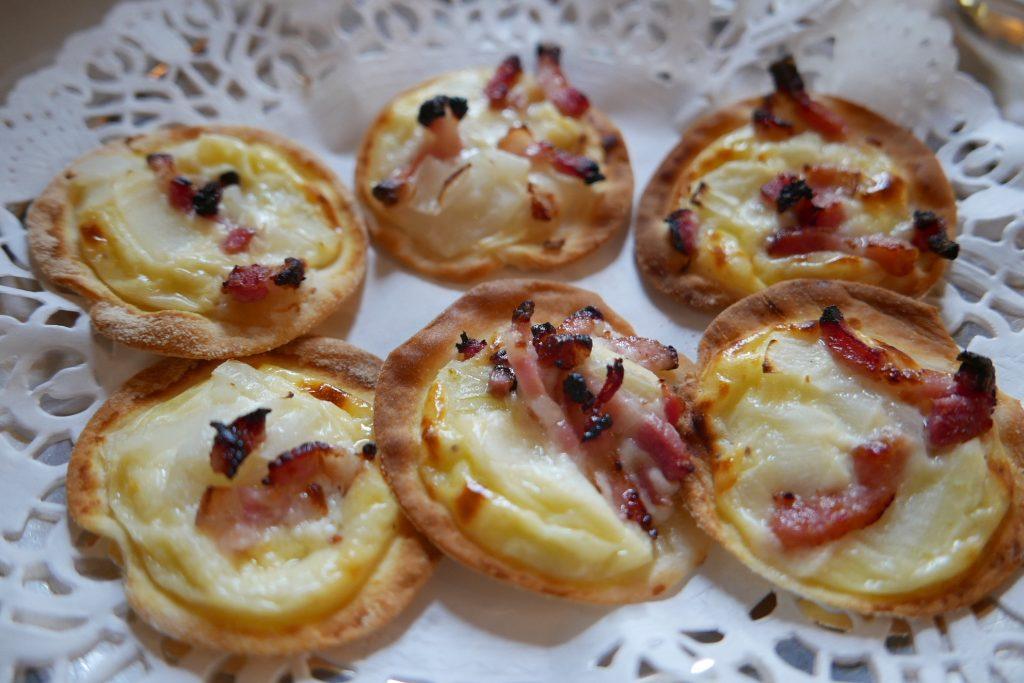 Les mini tartes flambées ©GP