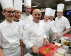 Olivier Nasti et son équipe © GP