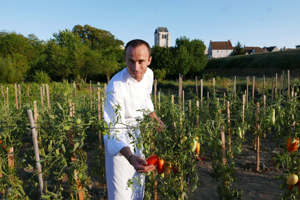 Christophe Hay et son jardin © GP
