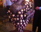 Le Trophée avec le dodo, l'emblème de Maurice enveloppée dans une grappe de raisins ©TK