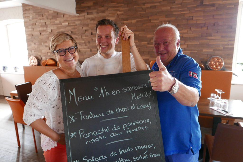 Anne, Laurent et Marco Arbeit ©GP