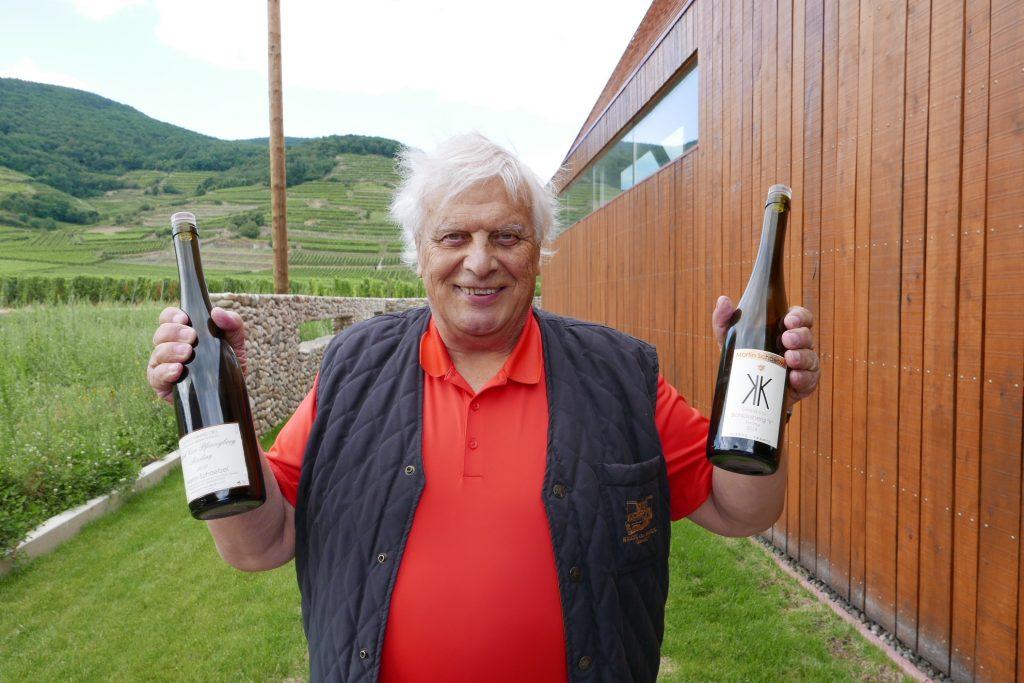 Marc Rinaldi et ses vins ©GP