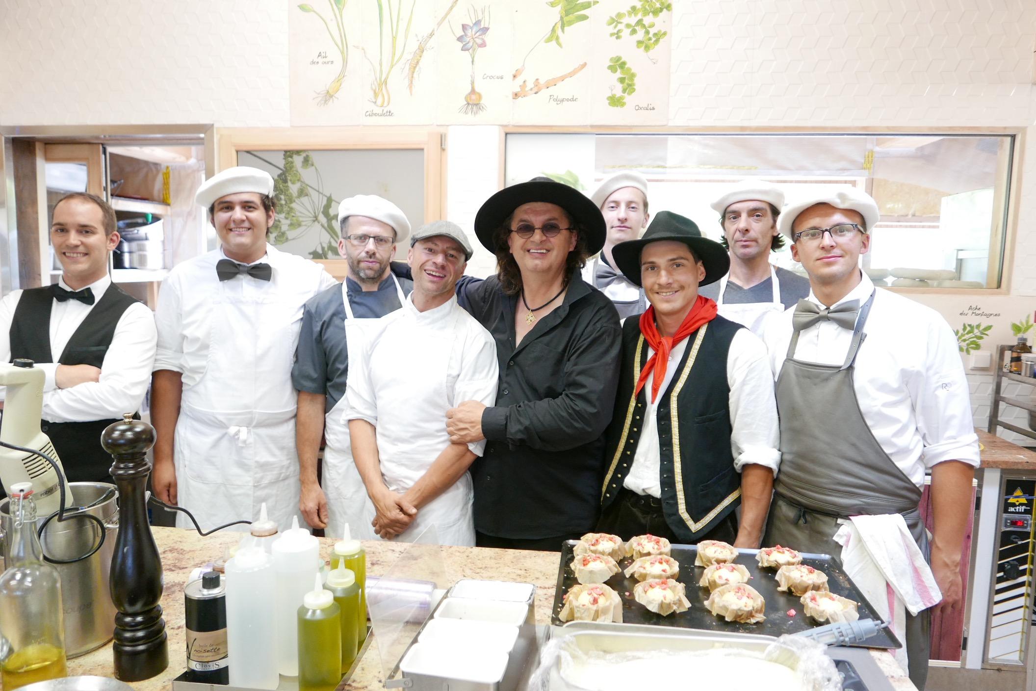 L quipe en cuisine for Equipe cuisine