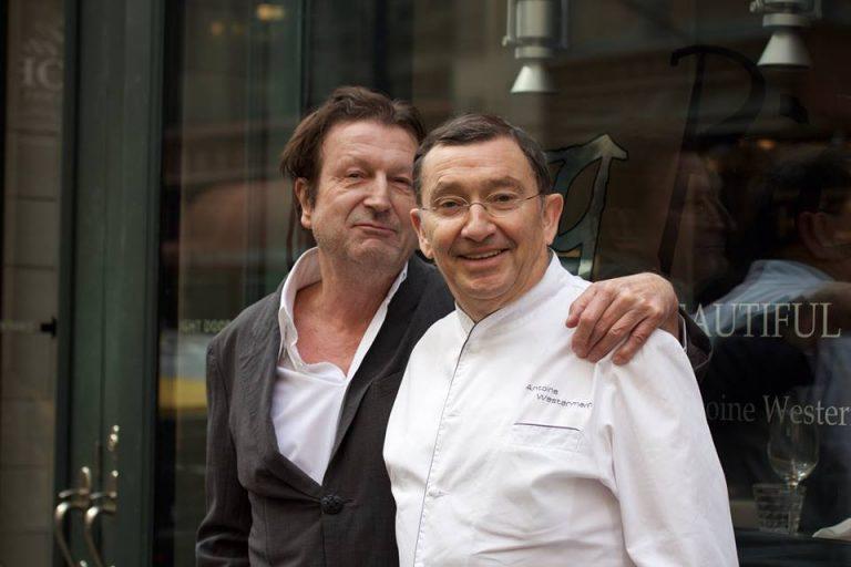 Francis Staub avec Antoine Westermann © PW
