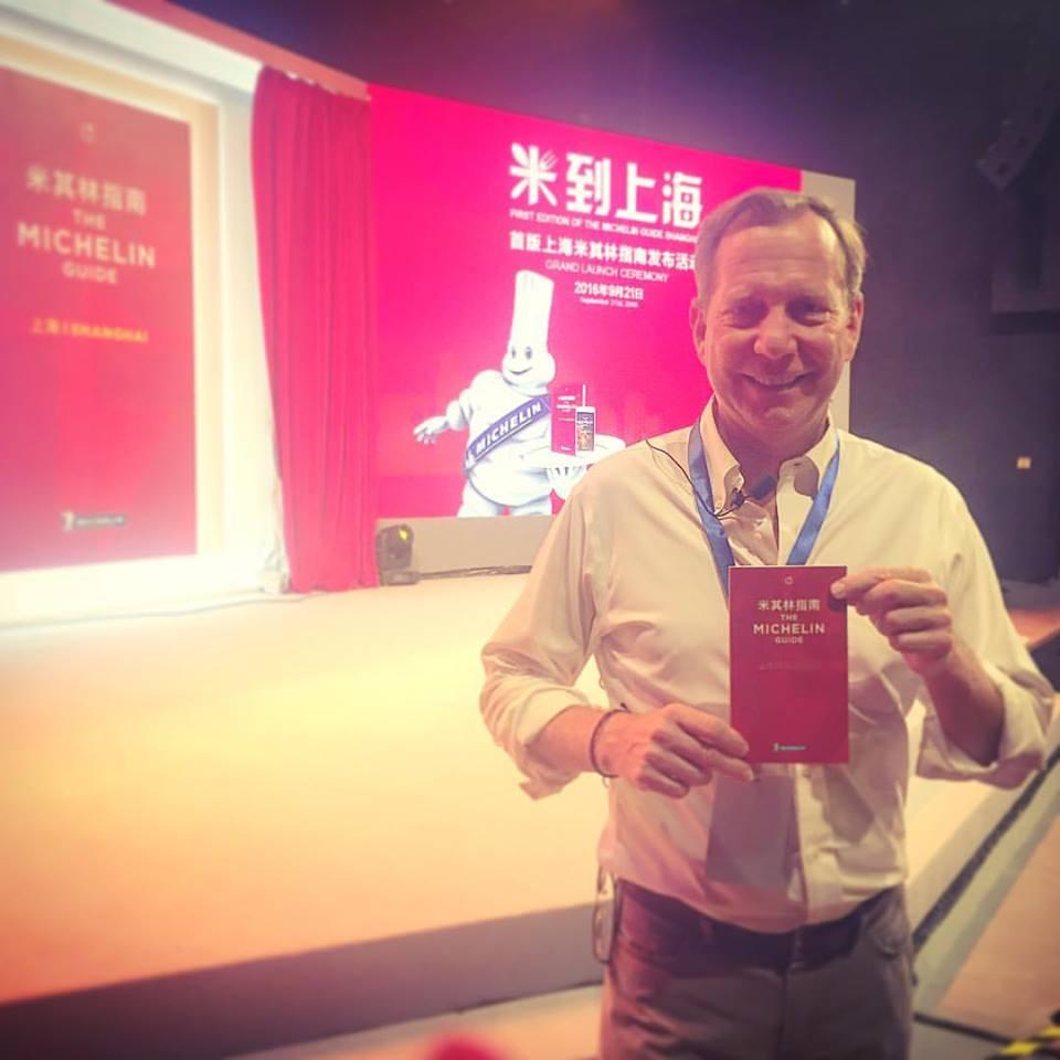 Michael Ellis et le Michelin Shanghai ©SD