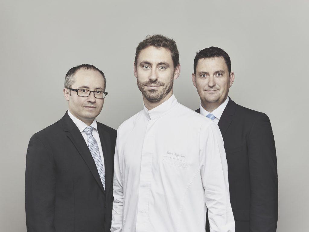 Daniel Pires, Pierre Rigothier, Frederic Pedrono © Marion Kotlarski