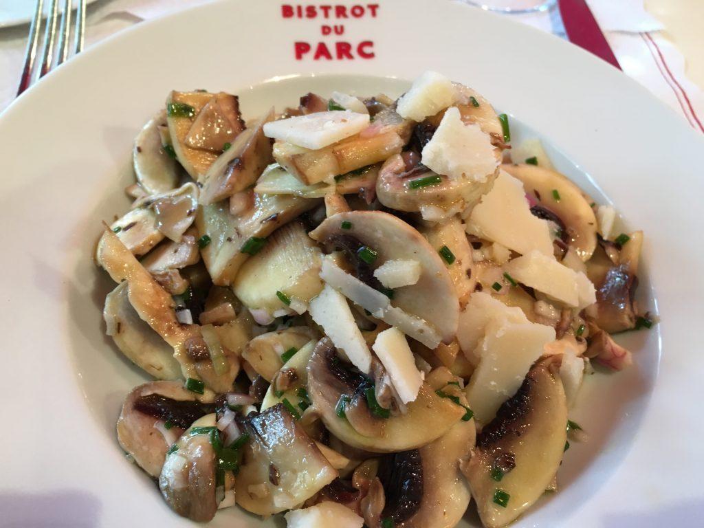 Salade de champignons ©GP